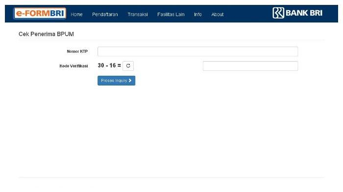 Akses Eform.bri.co.id/bpum untuk Cek Bantuan UMKM Rp 2,4 Juta, Ini Syarat Pencairan Dananya